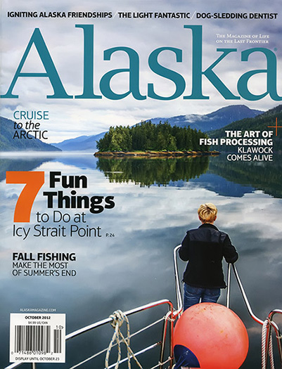 October 2012 Alaska Magazine Cover