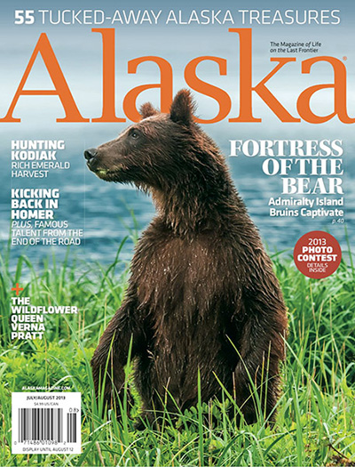 July/August 2013 Alaska Magazine Cover